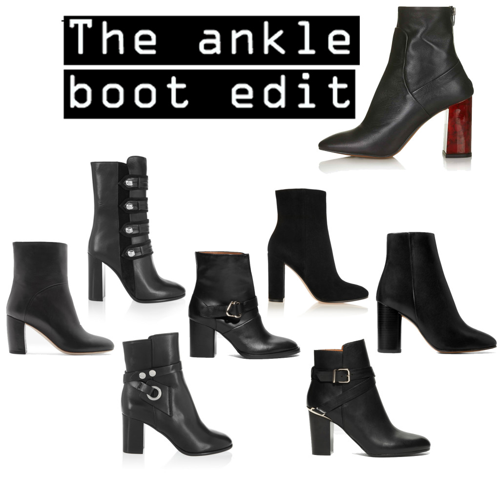 The ankle boot edit