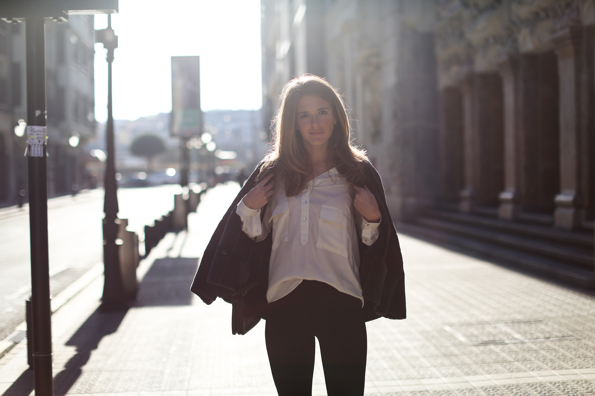 Clochet_streetstyle_cropped_flared_trousers_boxcalf_jacket_kalam_bilbao-3
