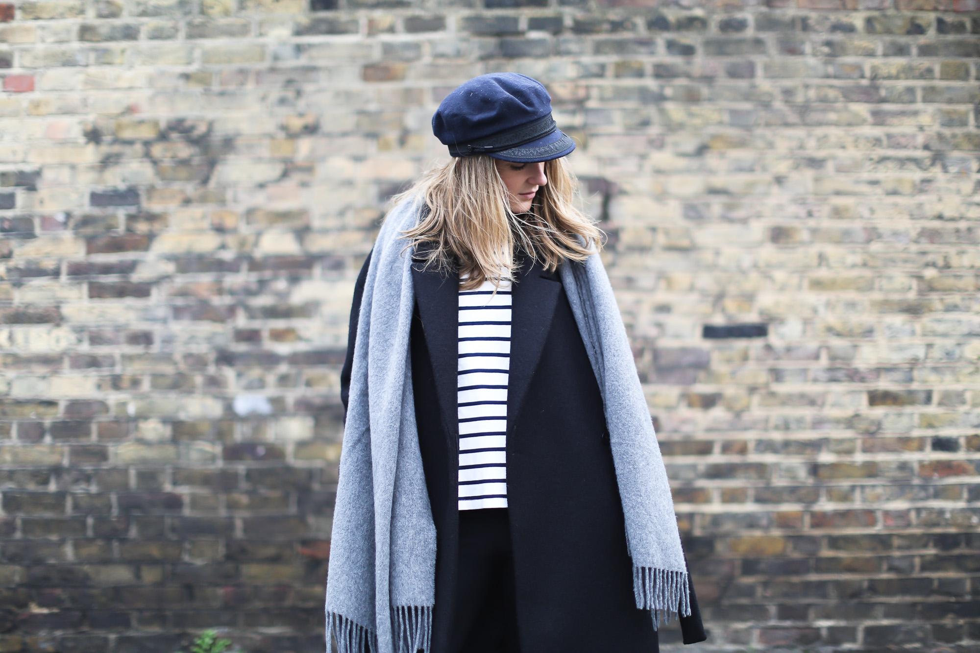 Clochet_streetstyle_london_cos_long_woo_coat_saint_james_mariniere_cup_celine_trio_bag-9