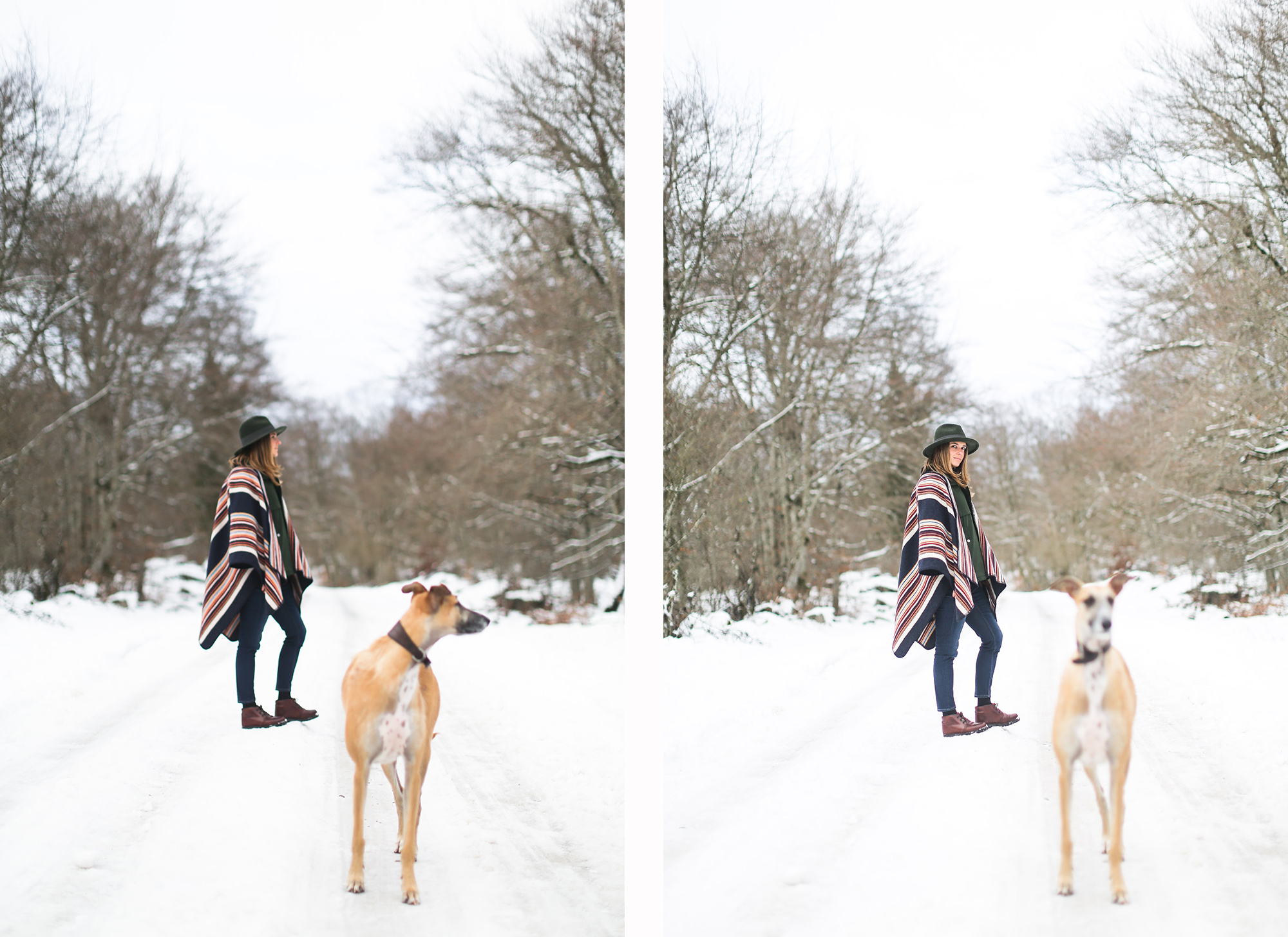 clochet_streetstyle_l'americaine_Andco_wool_poncho_panamajack_boots_snow-13
