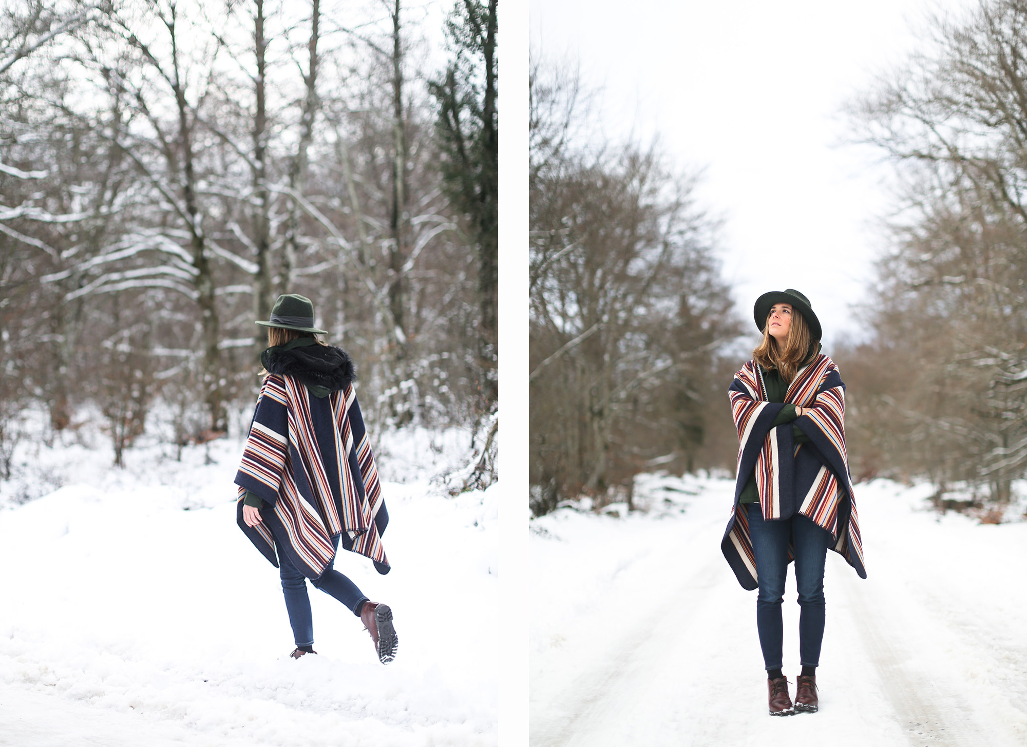 clochet_streetstyle_l'americaine_Andco_wool_poncho_panamajack_boots_snow-14