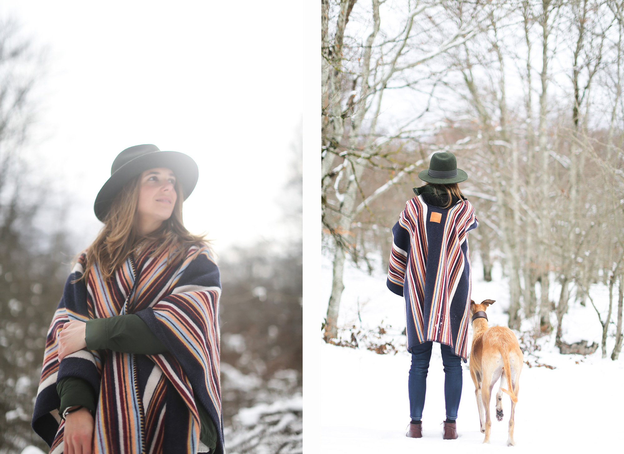 clochet_streetstyle_l'americaine_Andco_wool_poncho_panamajack_boots_snow-15