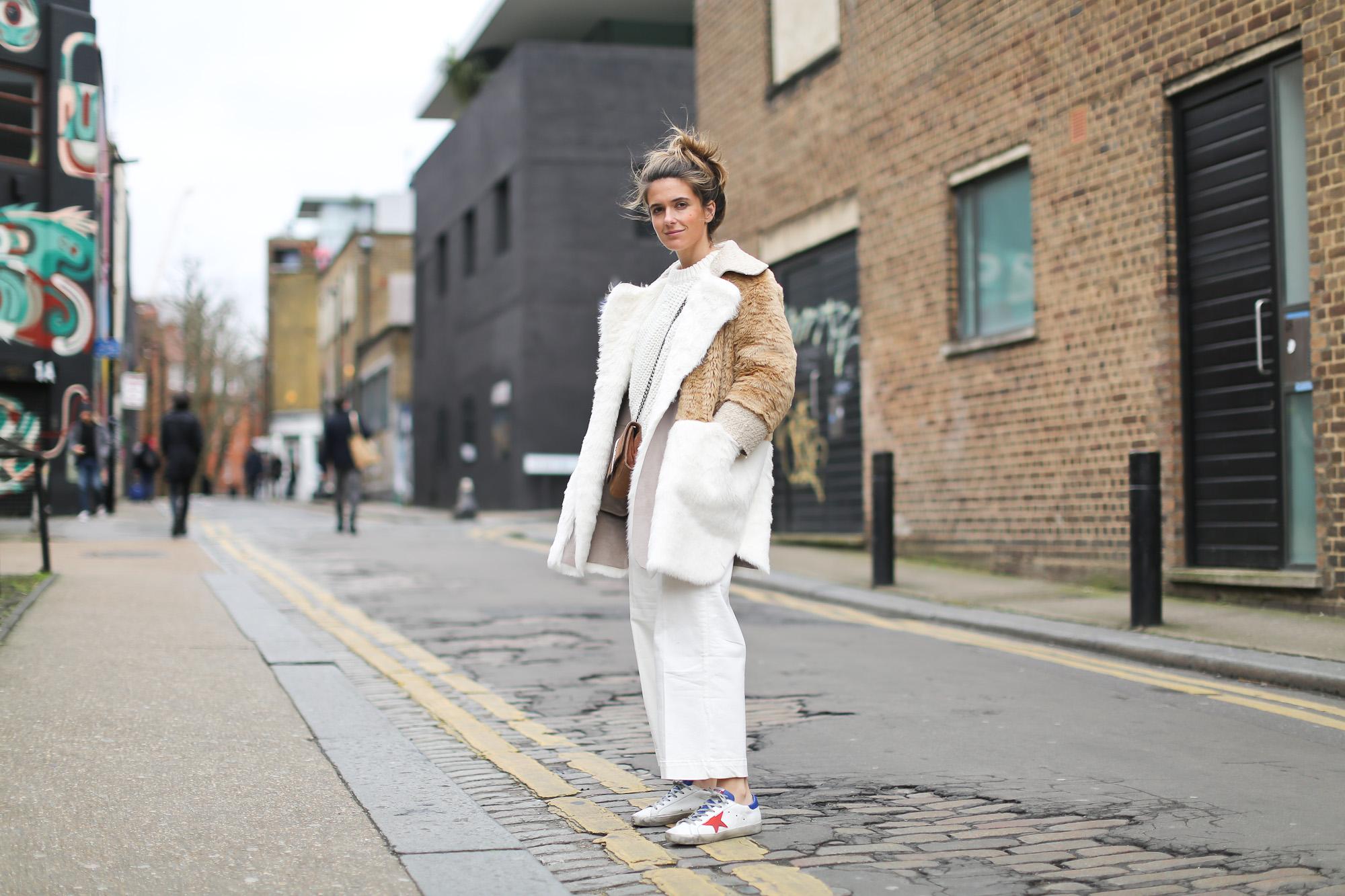Clochet_streetstyle_asos_patchwork_faux_fur_coat_goldengoose_superstar_sneakers_topshopunique_show-2