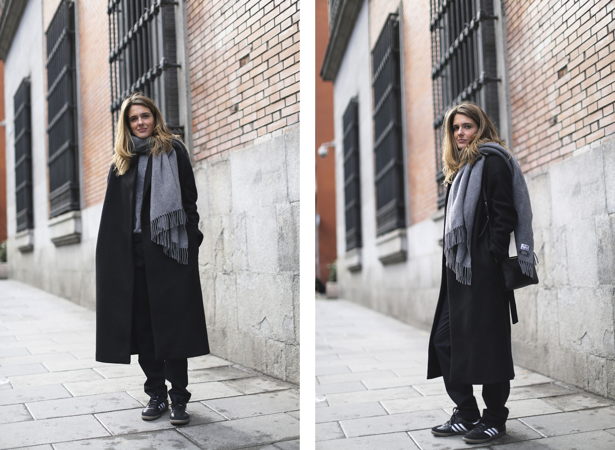 Clochet_streetstyle_cos_wool_long_coat_maje_panta_adidas_samba-20