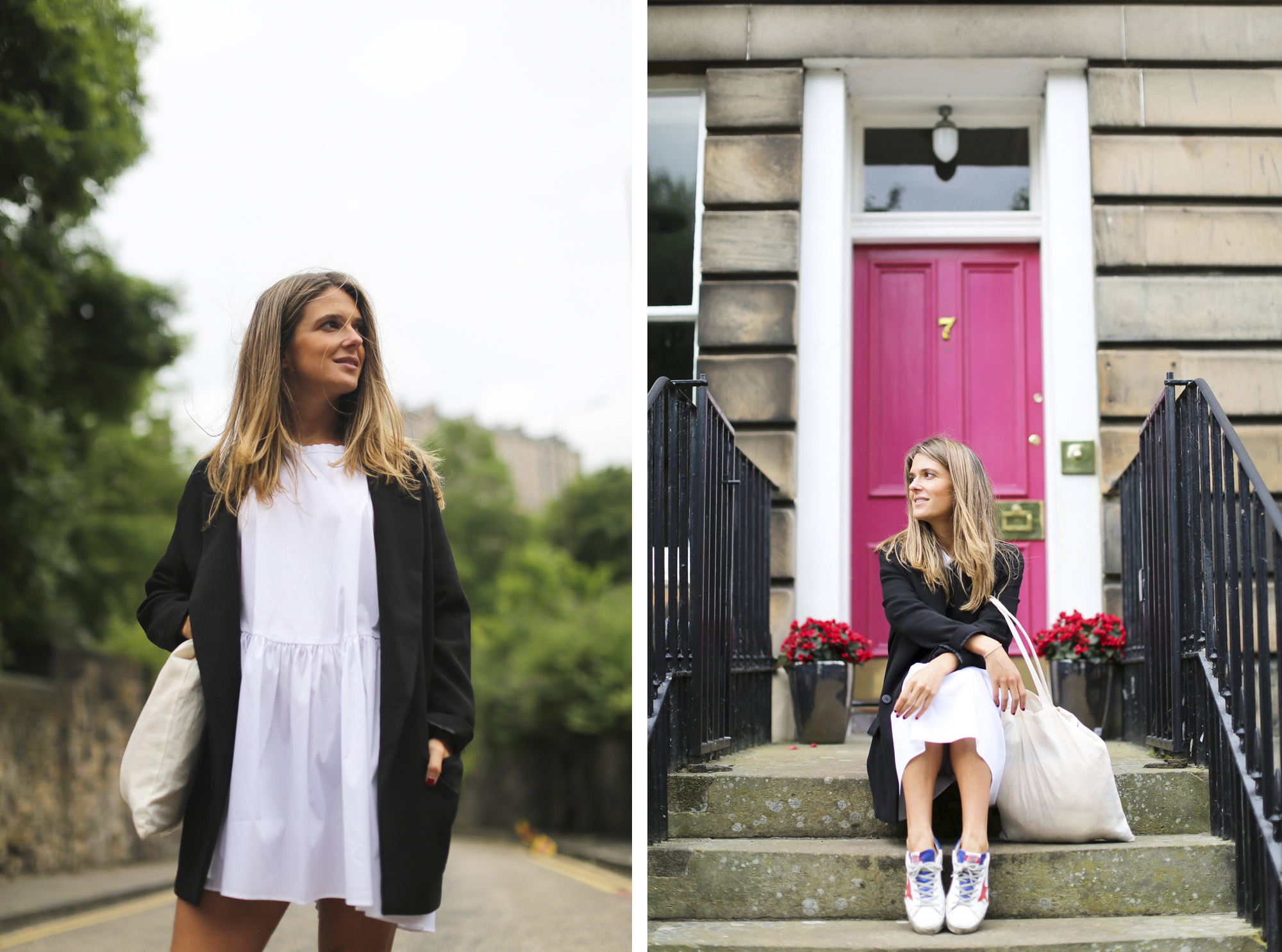 Clochet_streetstyle_zara_littlewhitedress_goldengoosedeluxesneakers_edinburgh-8