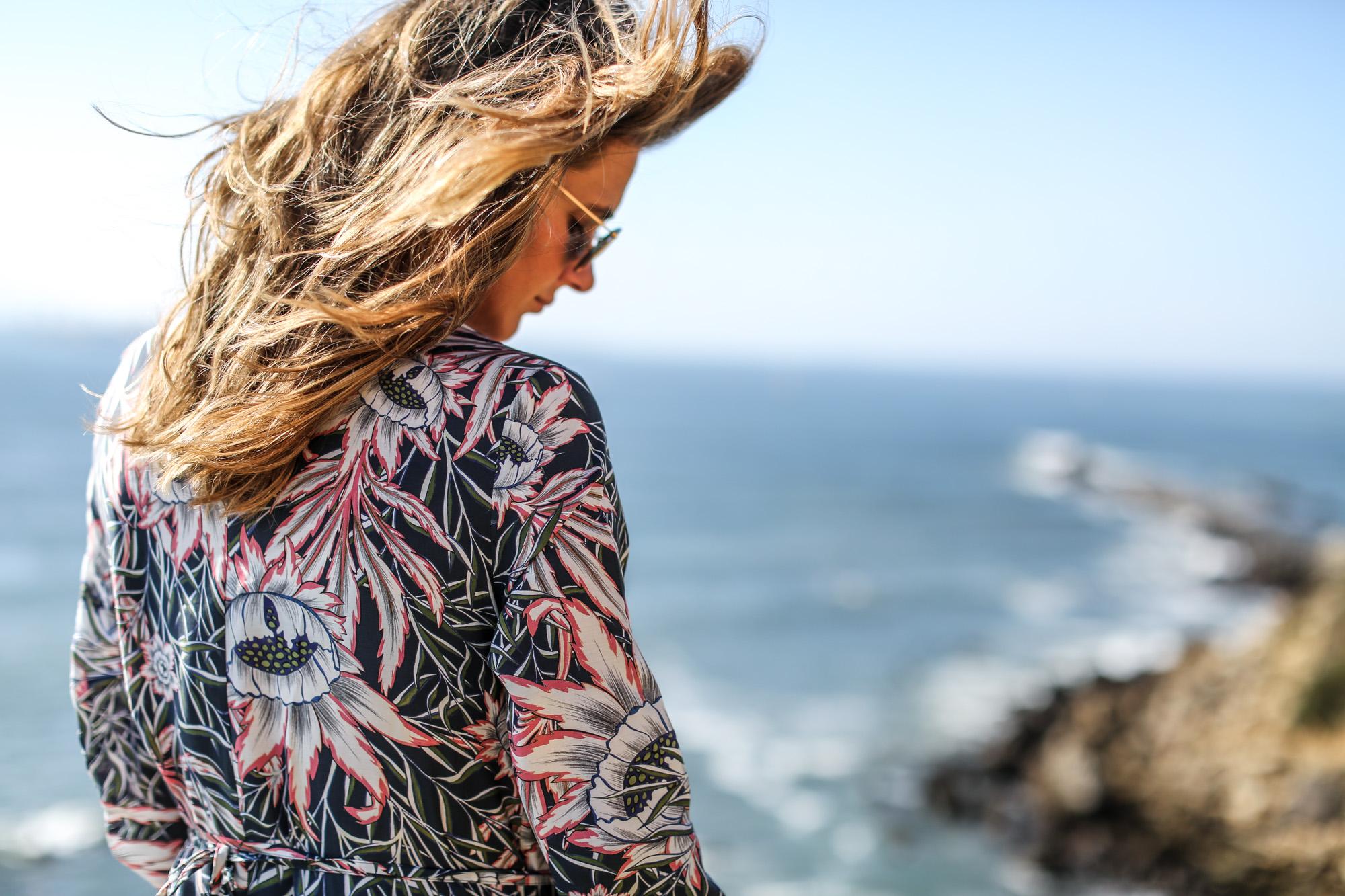 Clochet_streetstyle_fashionblogger_h&mtrend_longprintedshirtdress_rosegoldsuperga-7