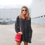 Mini polka dots dress