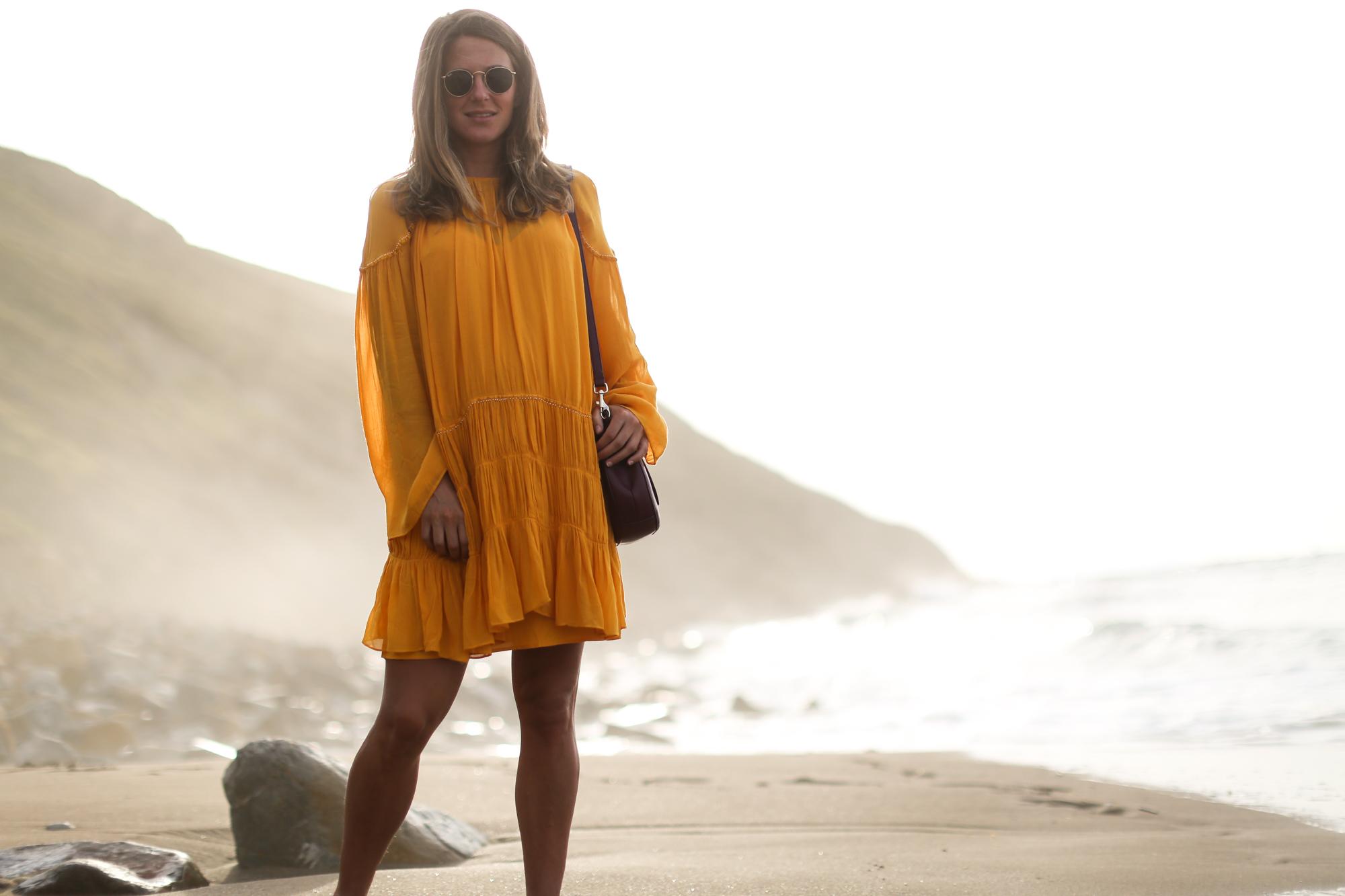 clochet_streetstyle_zara_romantic_yellow_Boho_dress_purificaciongarciawestfaliabandolerapiel-3