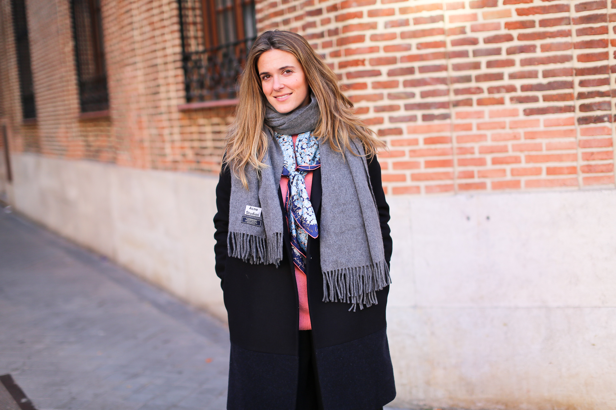 Clochet_streetstyle_fashionblogger_YouMustCreateculottetrousers_andotherstoriespinkknit_coswoolcoat-2