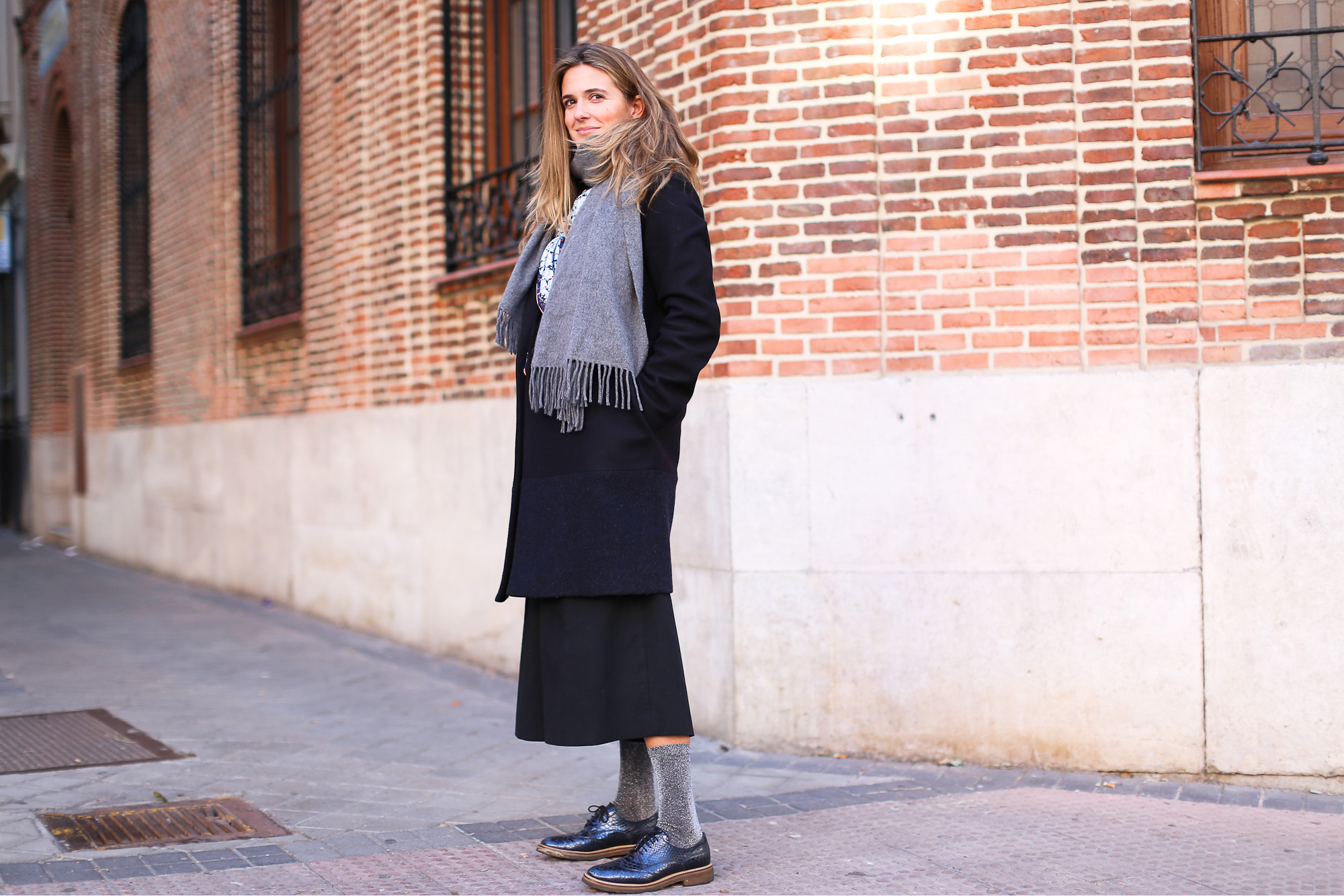 Clochet_streetstyle_fashionblogger_YouMustCreateculottetrousers_andotherstoriespinkknit_coswoolcoat