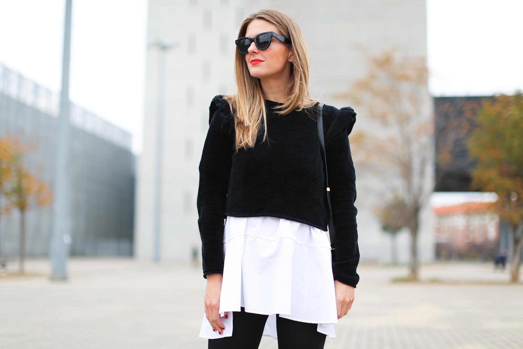 Clochet_streetstyle_fashionblogger_bilbao_yvessaintlaurentbeauty_Blackopiumeaudeparfum_rougerpurcouturecollector_toucheeclat_couturebrowpalette_maquillajenavidad_-6