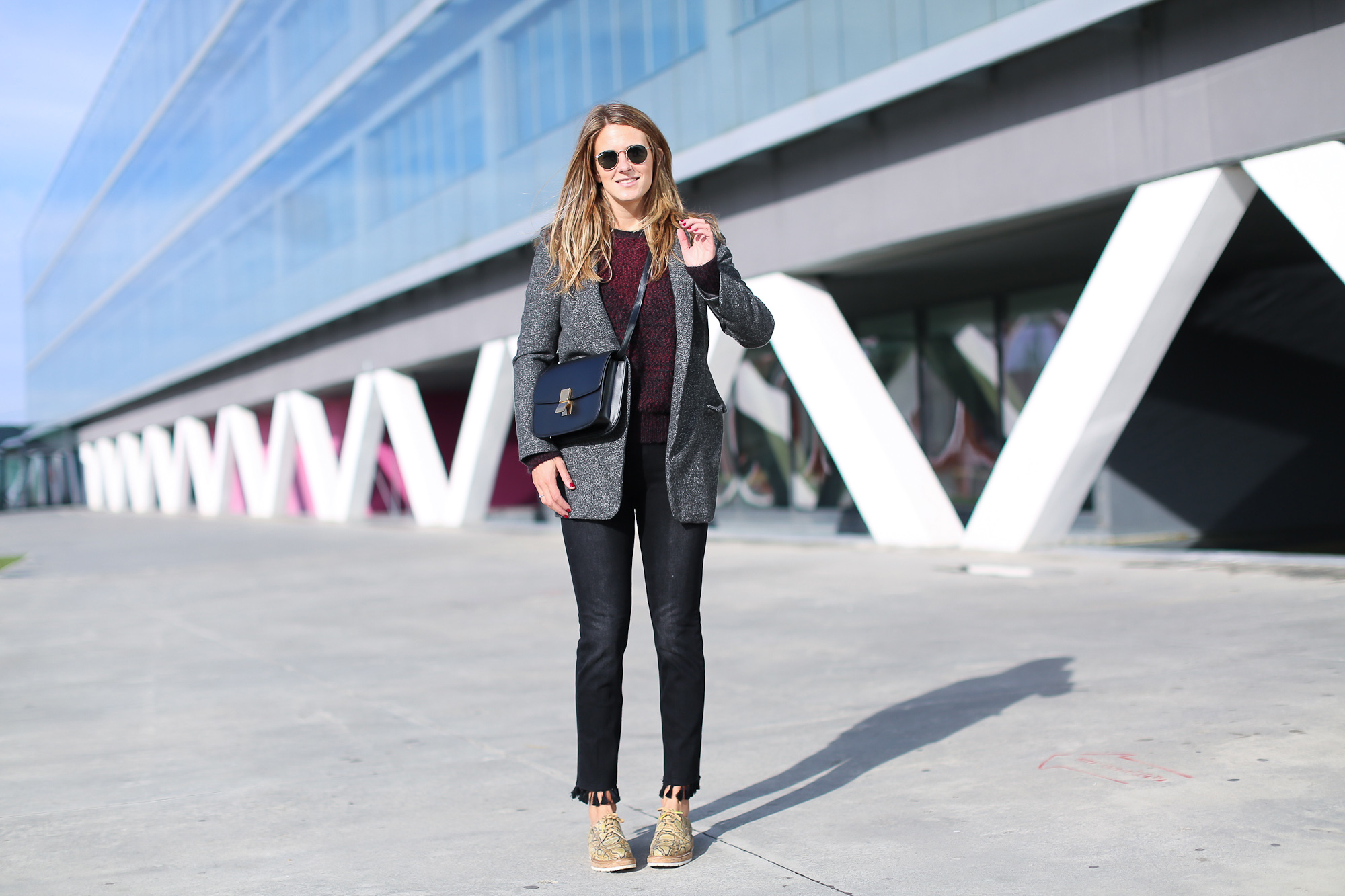 Clochet_streetstyle_fashionblogger_bilbao_zapatospielpertiniestampadoserpientepiton_zarajeansborlaspompones