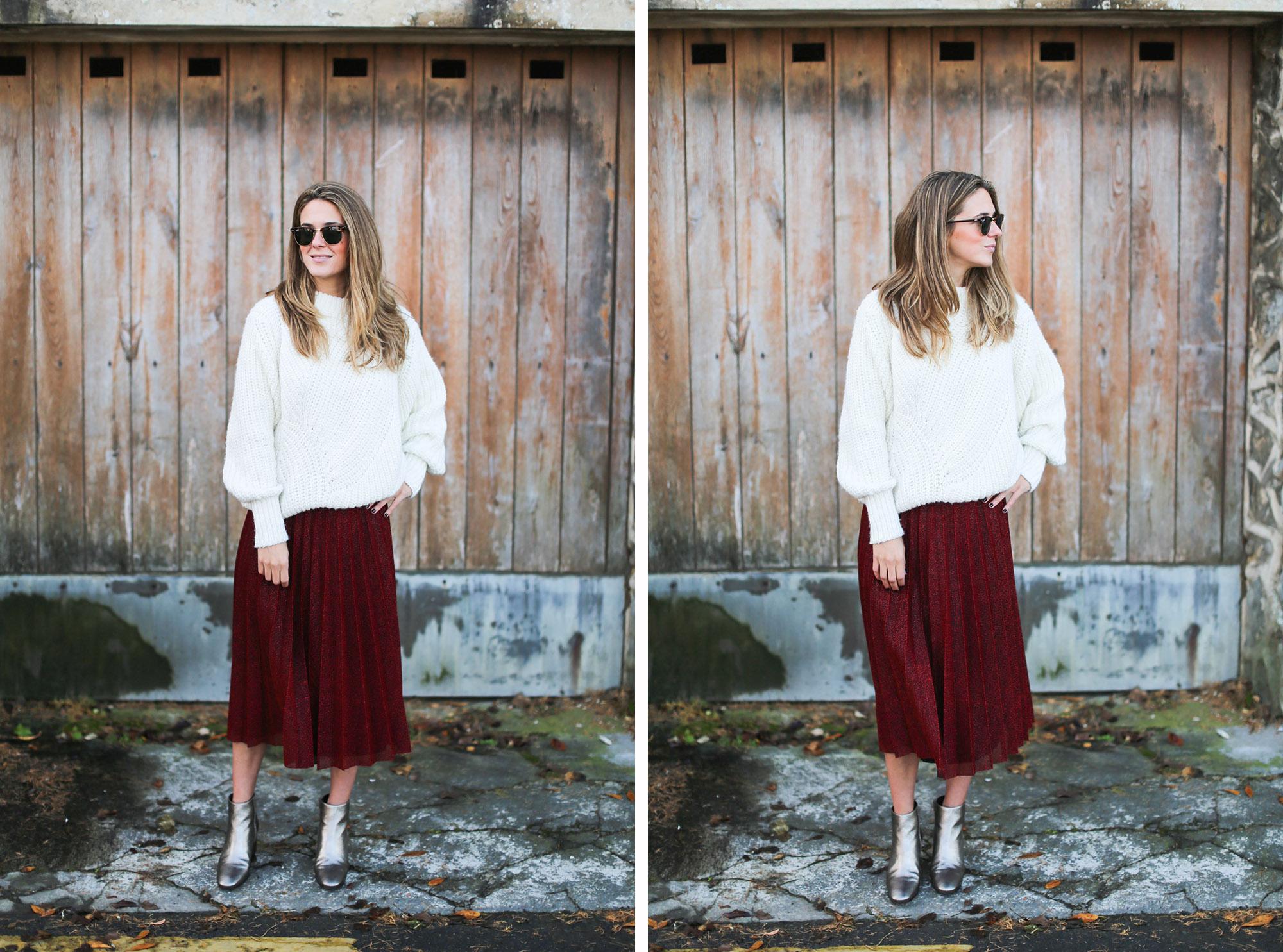 Clochet_streetstyle_fashionblogger_elcorteingles_gloriaortizbotinesbronce_faldaplisadarojaamitie-15