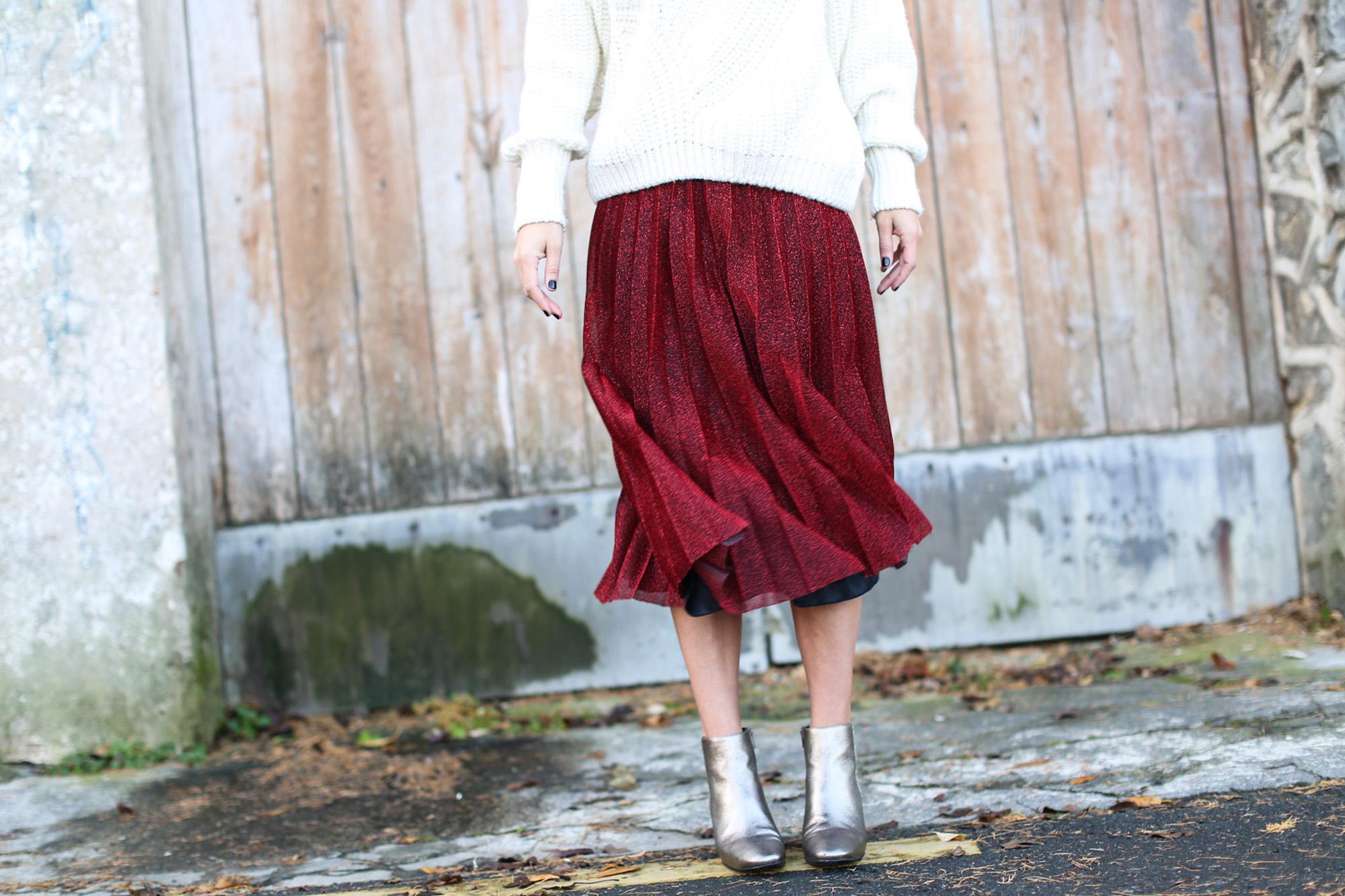 Clochet_streetstyle_fashionblogger_elcorteingles_gloriaortizbotinesbronce_faldaplisadarojaamitie-5