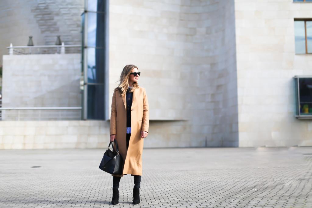 Wool beige coat