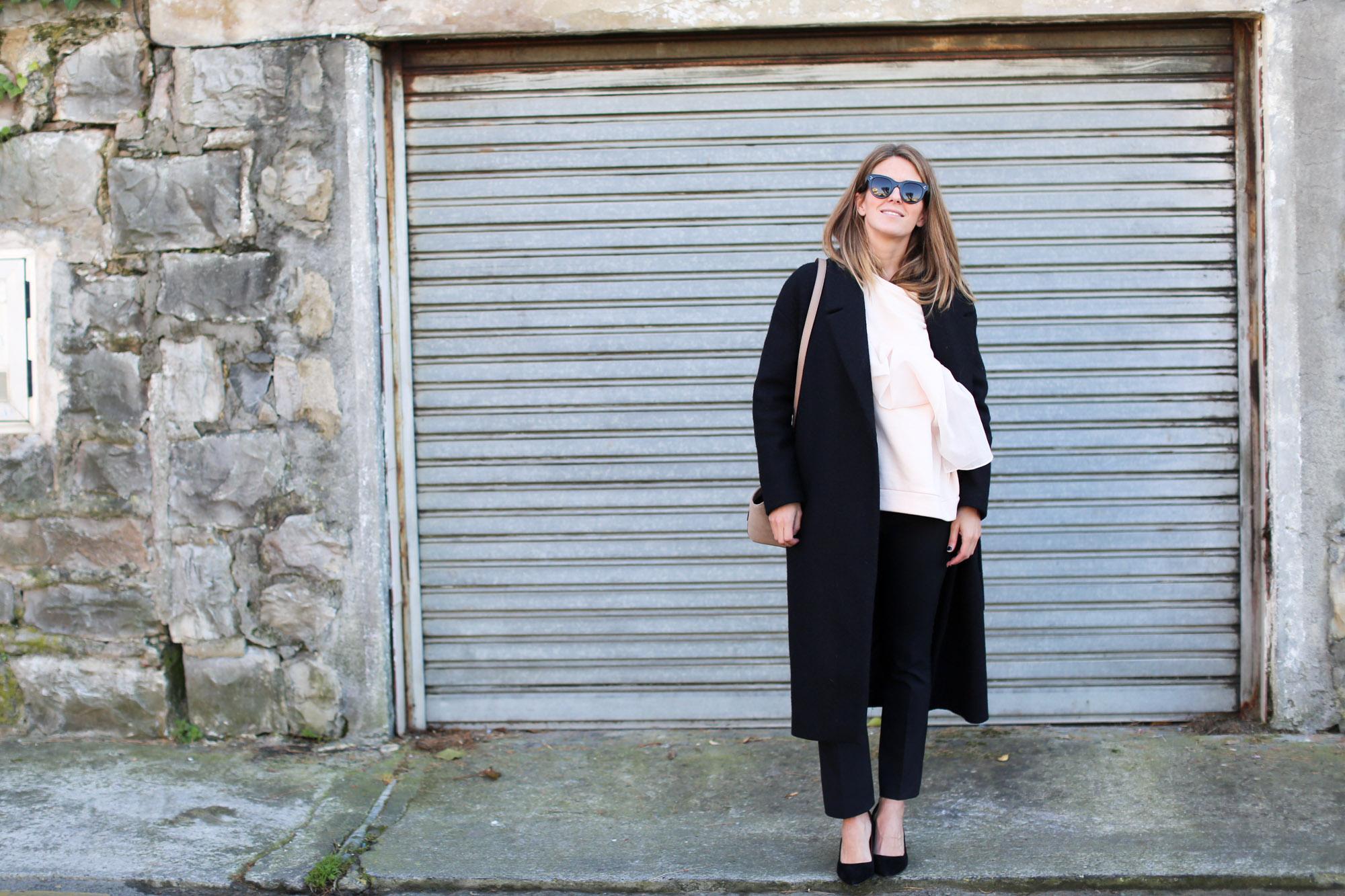 clochet_streetstyle_fashionblogger_cosnuderibbonsweatshirt_otherstoriessuedestilettos_coswoollongcoat-3