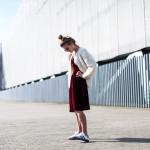 Masscob velvet dress