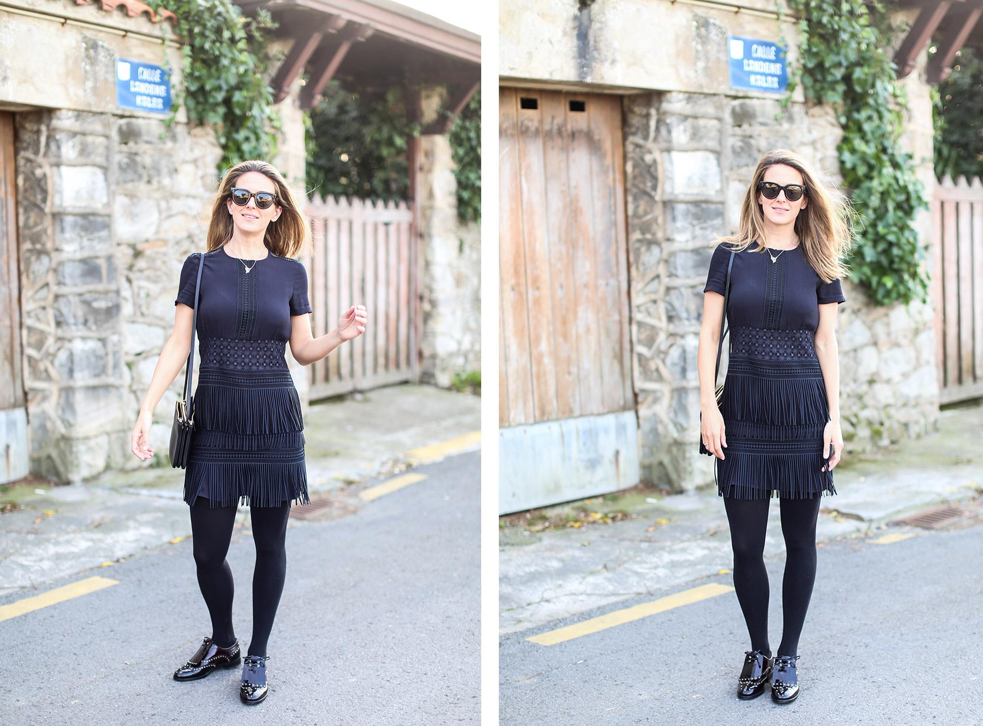 Clochet_streetstyle_fashionblogger_zapatosplanosbroguestachuelasPertini_vestidoMajeflecosReia-14