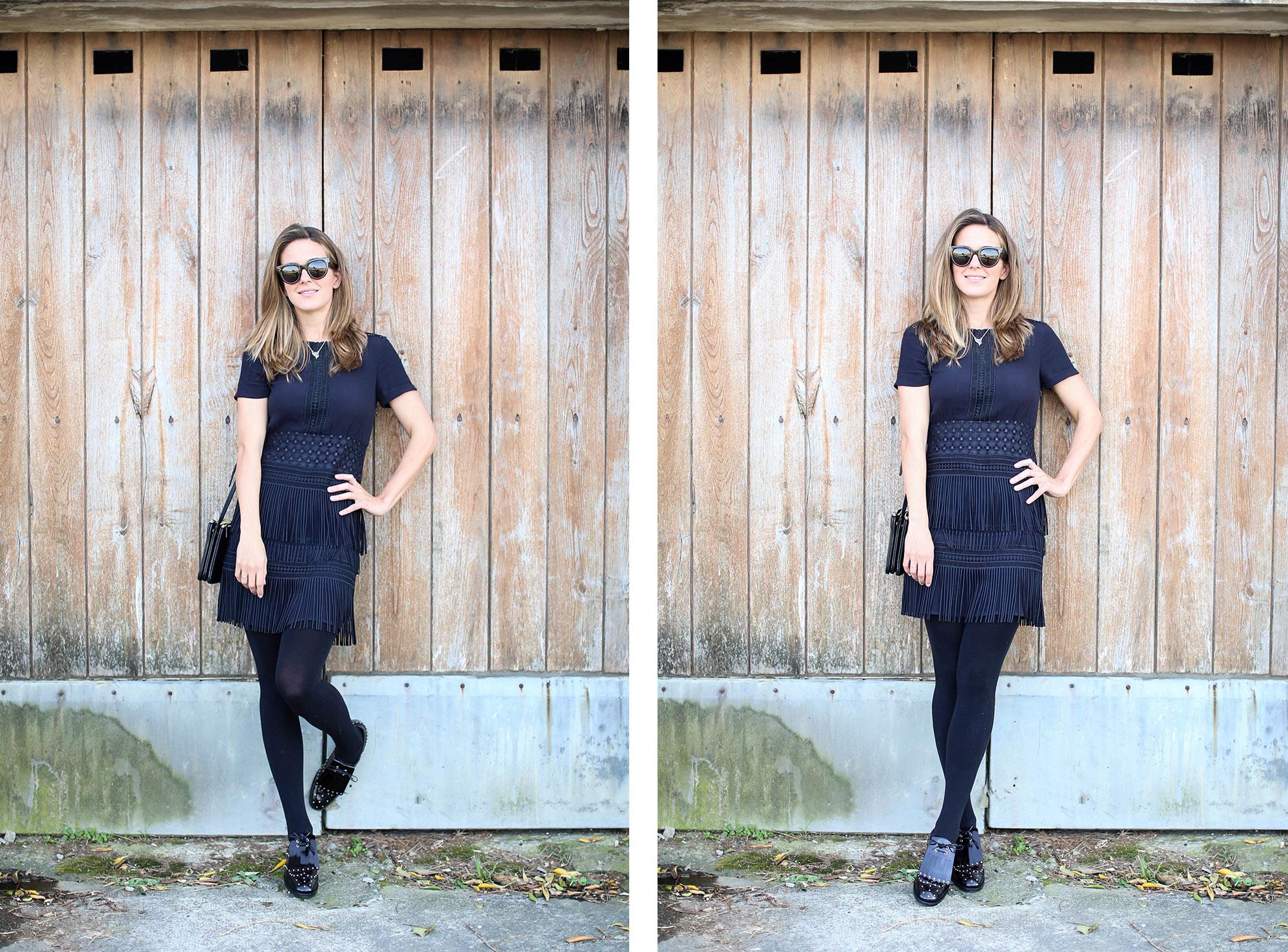 Clochet_streetstyle_fashionblogger_zapatosplanosbroguestachuelasPertini_vestidoMajeflecosReia-15