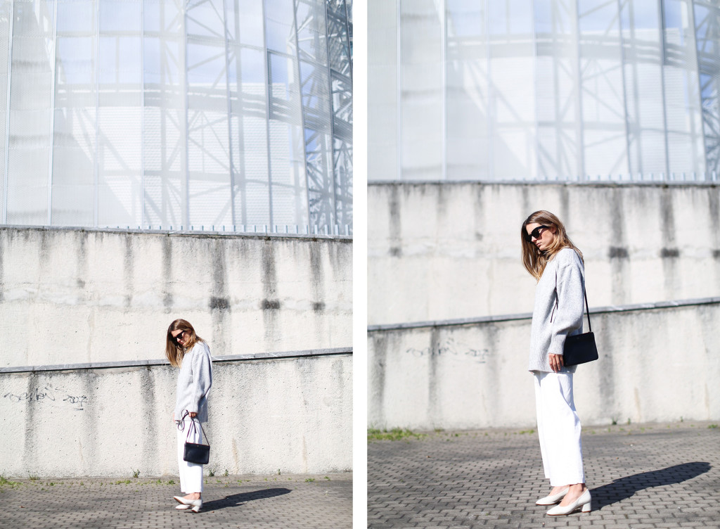 clochet total look zara minimalista