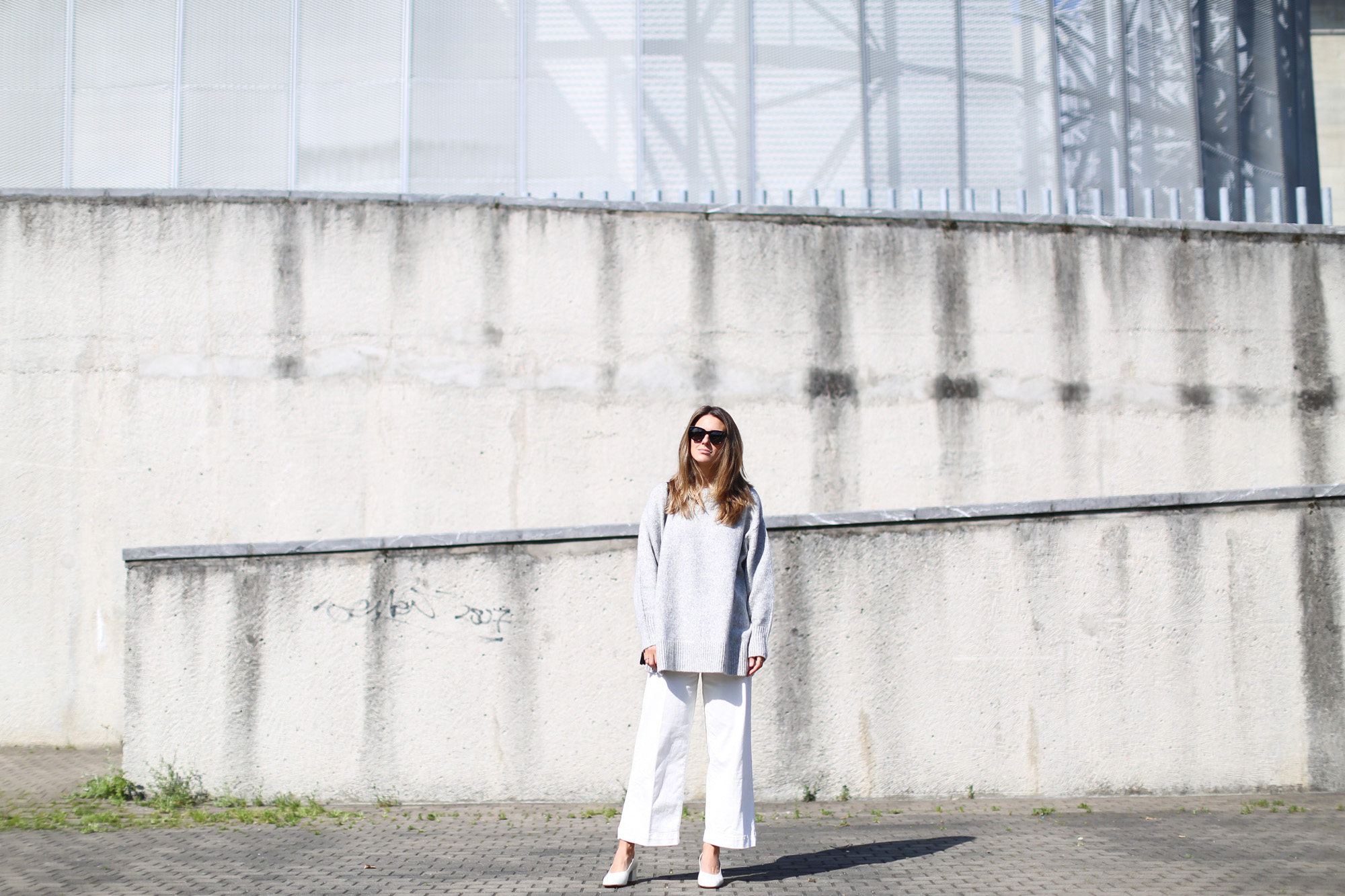 Clochet look minimalista zara