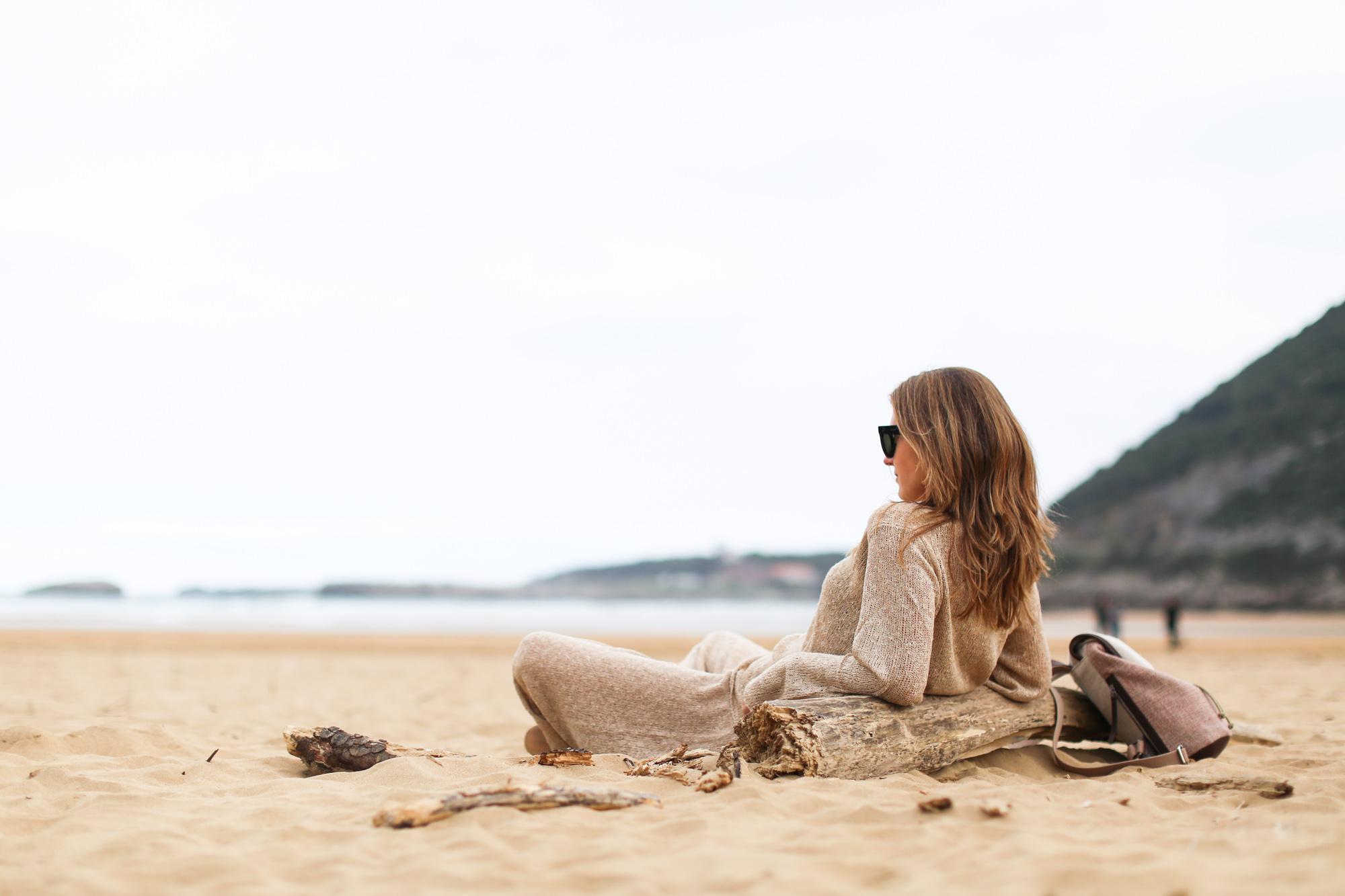 Clochet pantalon culotte Zara knitwear