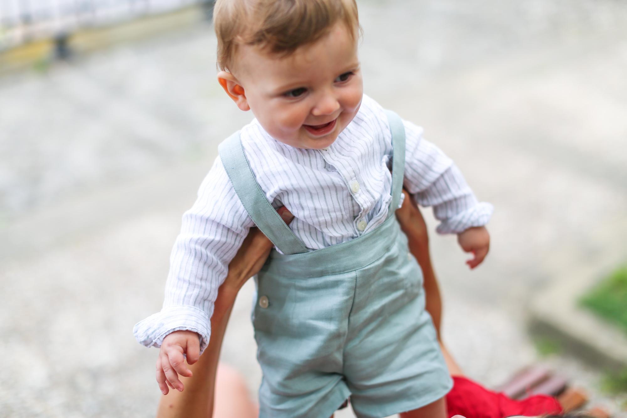 distribuidor mayorista 45a87 76bb7 Minivestido rojo y look de niño Gocco | Celine | Gocco ...