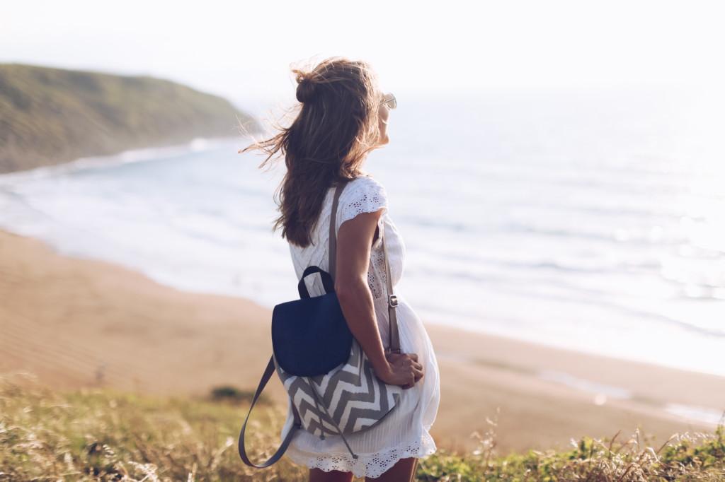 Mini vestido blanco de verano
