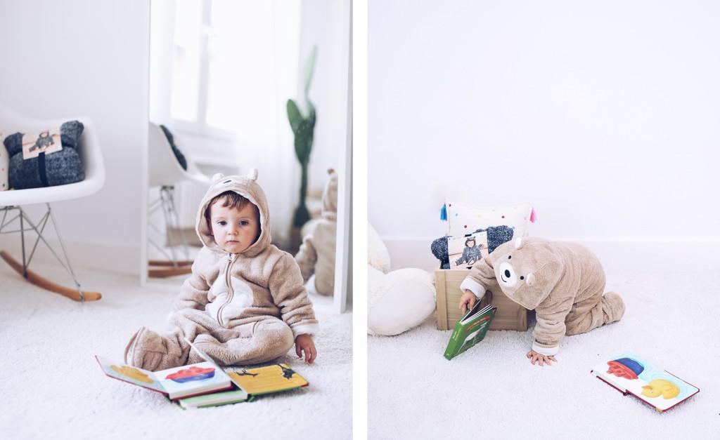 Pijama de osito Lupilu